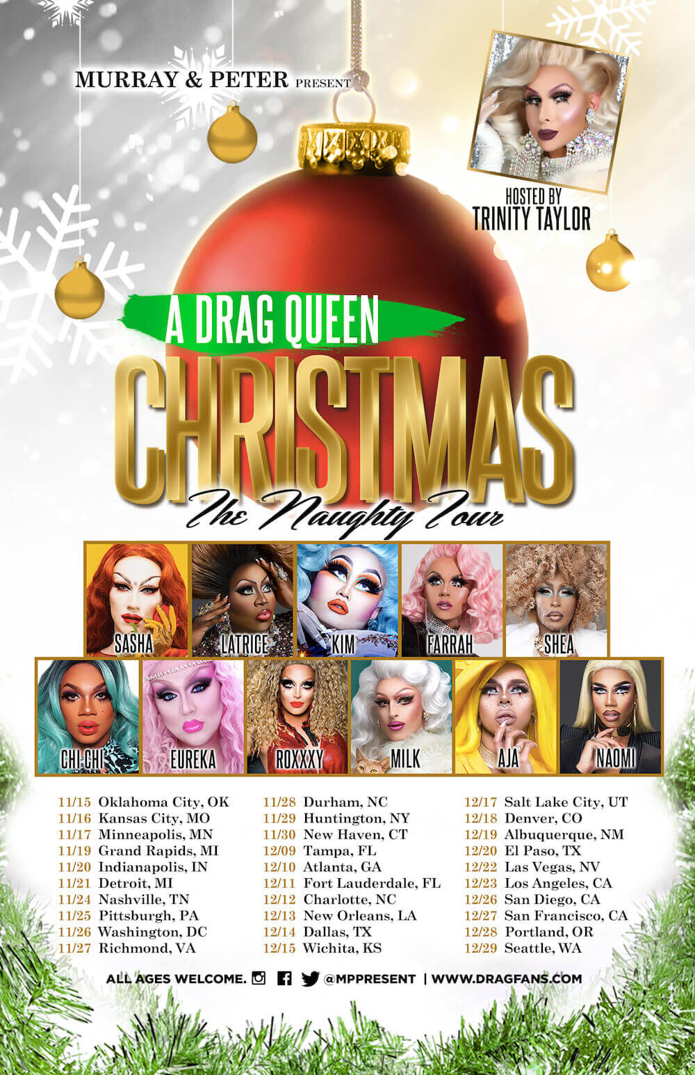 A Drag Queen Christmas Ad Mat