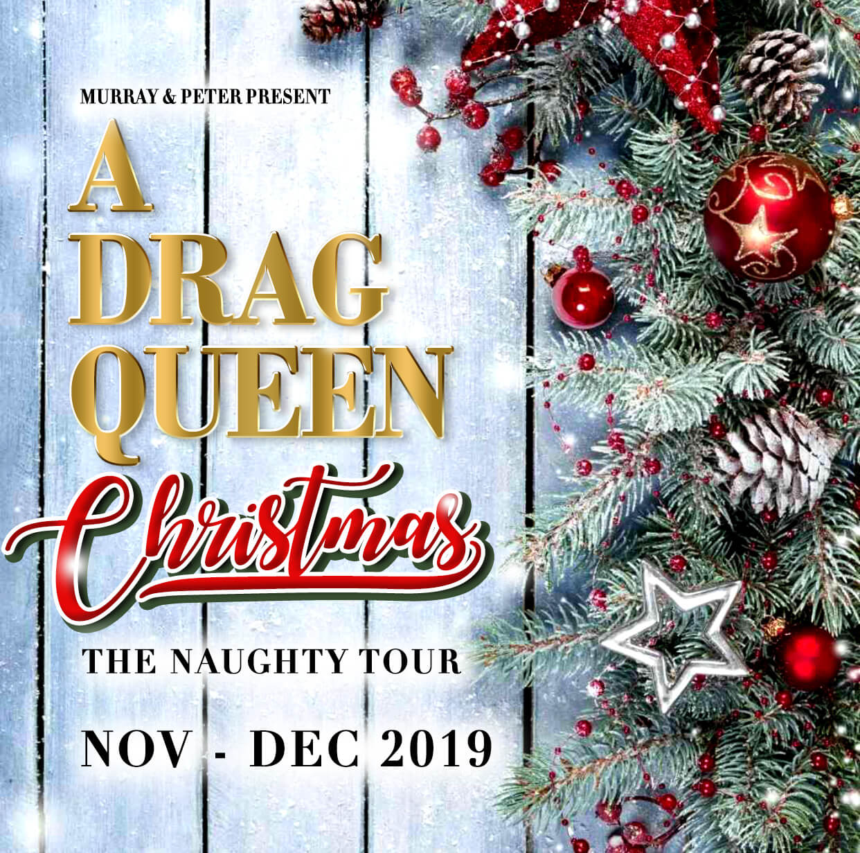 A Drag Queen Christmas 2019 Ad Mat