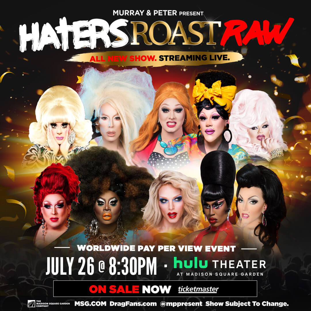Hater's Roast Raw Ad Mat