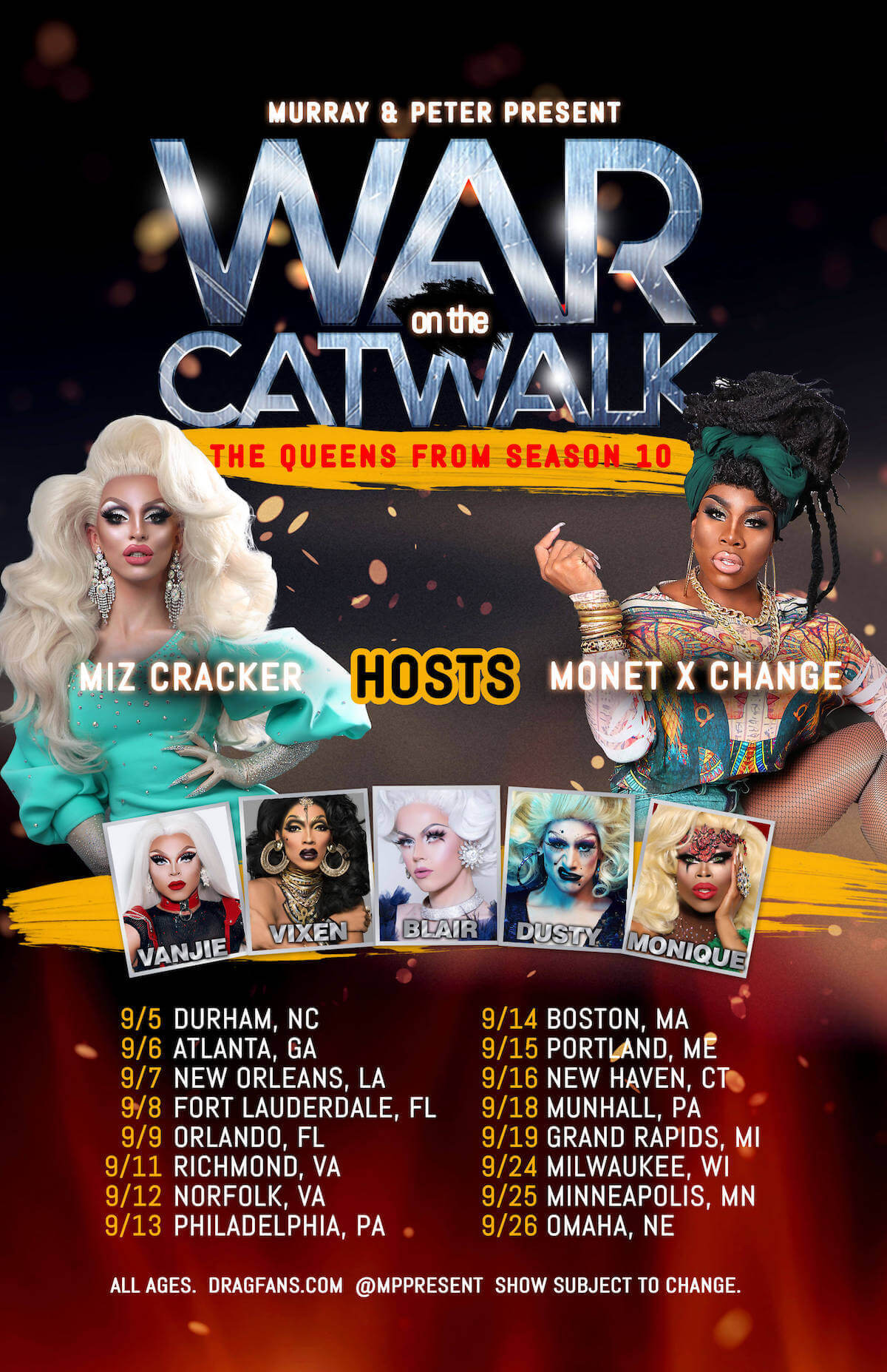War on the Catwalk Ad Mat