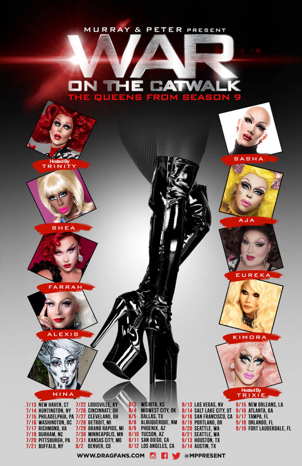 War on the Catwalk Season 9 Ad Mat