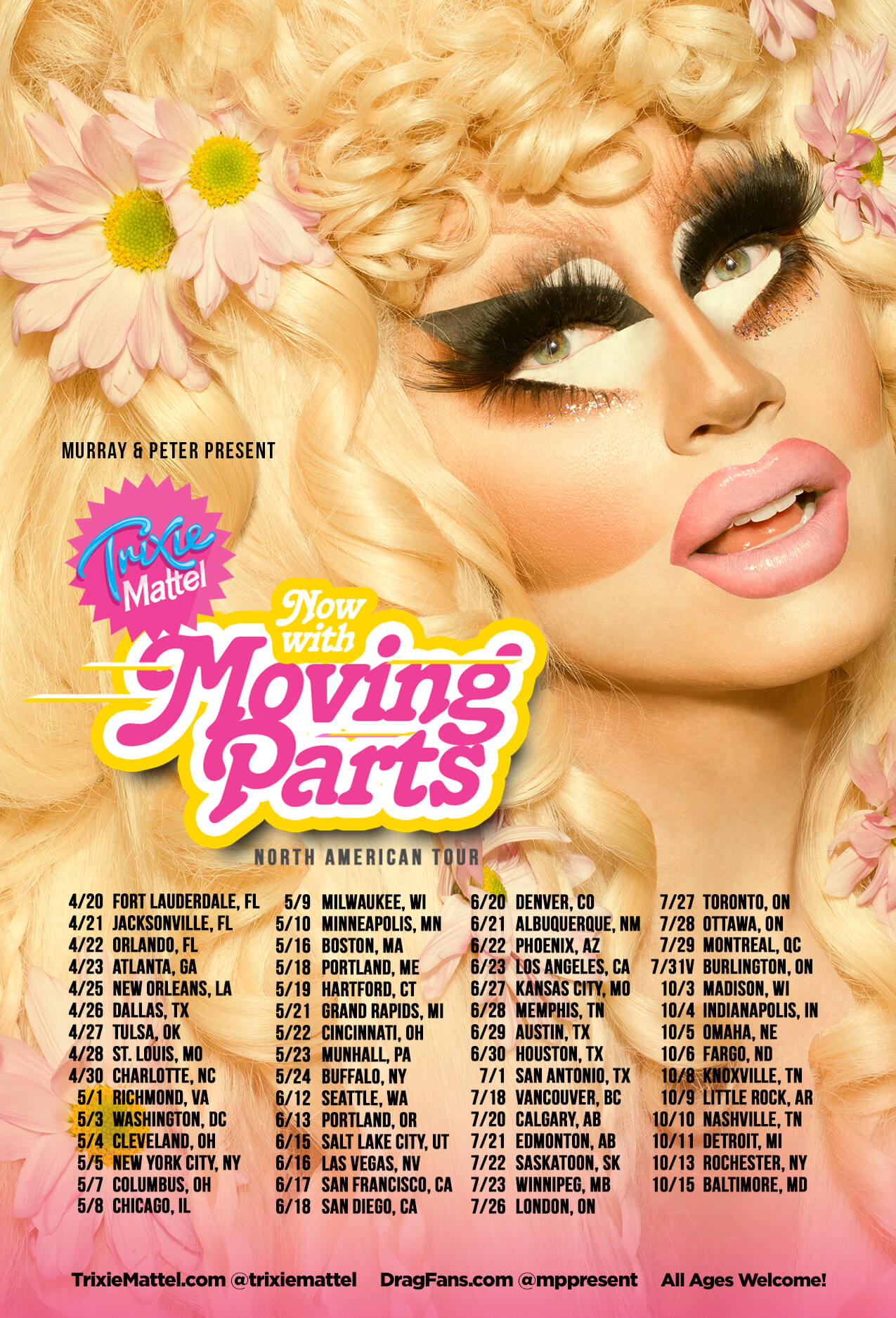 Trixie Mattel - Now with Moving Parts Ad Mat