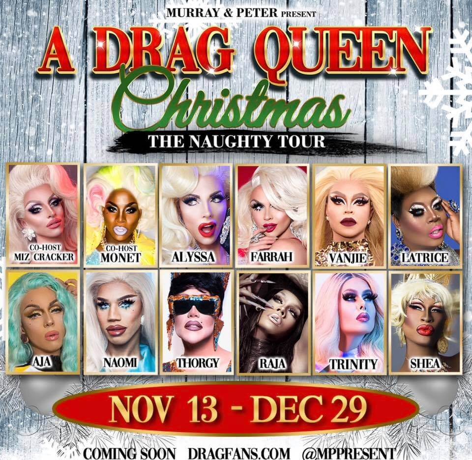 A Drag Queen Christmas 2020 Lineup Murray & Peter Present Haters Roast 2020