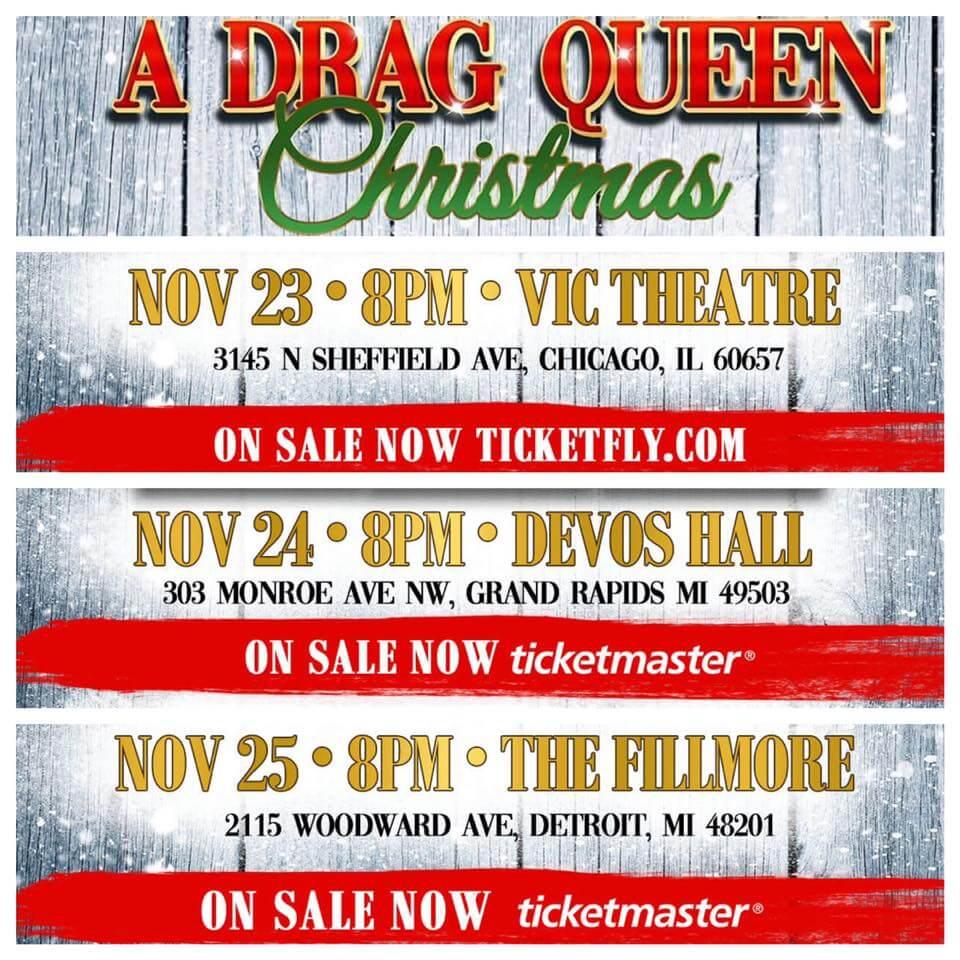 Drag Queens Of Christmas 2020 November 24 Murray & Peter Present Haters Roast 2020