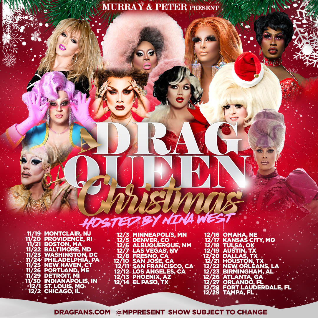Drag Queen Christmas Ad Mat