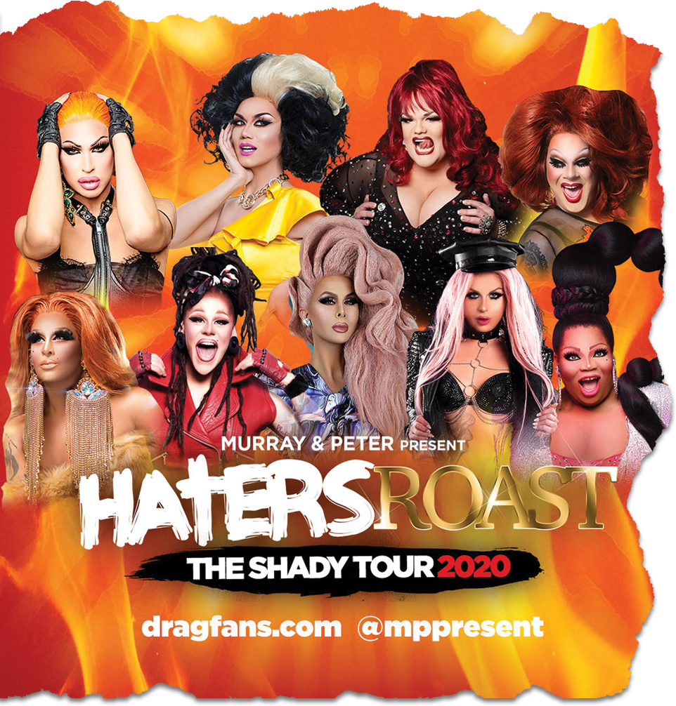 Drag Queen Christmas Tour 2020 Murray & Peter Present Haters Roast 2020